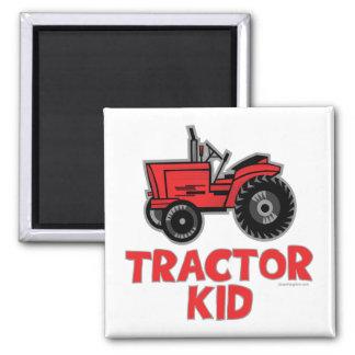 Traktor-Kind Quadratischer Magnet
