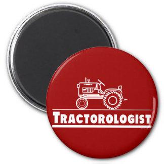 Traktor Ologist ROT Runder Magnet 5,7 Cm