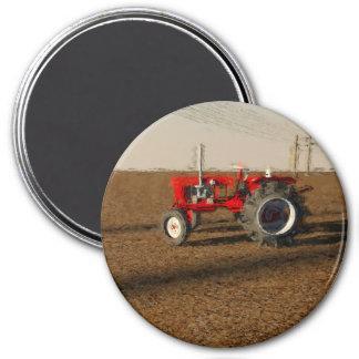Traktor und Länder des Ackerbaus Runder Magnet 7,6 Cm
