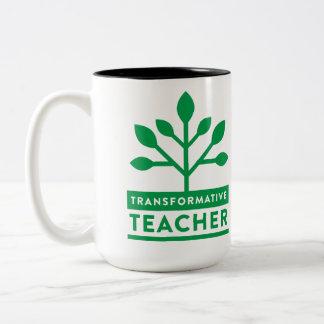 Transformative Lehrer-Tasse Zweifarbige Tasse