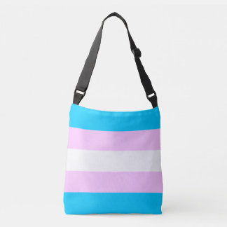 Transgender-Flagge Tragetaschen Mit Langen Trägern