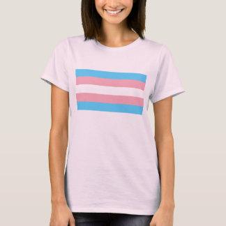 Transgender-Stolz-Flagge T-Shirt