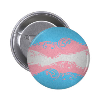 Transgenderornamental-Flagge Runder Button 5,1 Cm