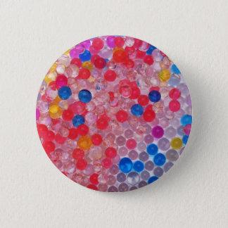 transparente Wasserbälle Runder Button 5,1 Cm