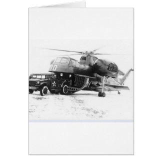 Transportflugzeuge Grußkarte