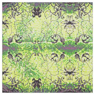Trauben-Blatt-Muster Stoff