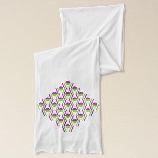 Trauben-u. Rebe-Muster-Schal Schal