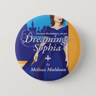 Träumen der Sophia Buch-Knöpfe Runder Button 5,1 Cm