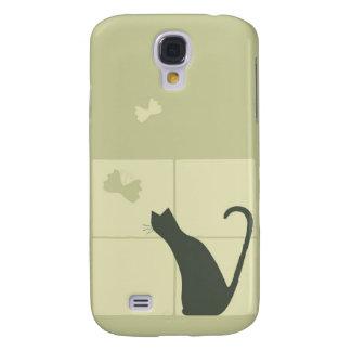 Träumerische Katze Galaxy S4 Hülle
