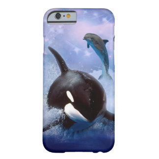 Träumerischer Wal und Delphine Barely There iPhone 6 Hülle