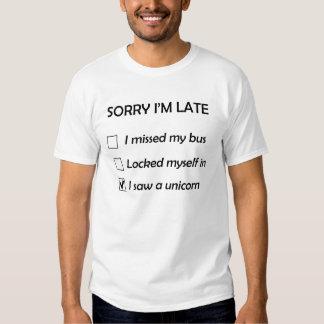 Traurig bin ich später T - Shirt