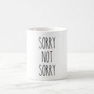 Traurige nicht traurige Tasse