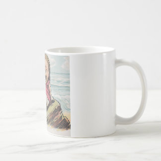 Traurige Seewellen - schreiendes Baby Kaffeetasse