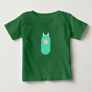 Trauriger LamaEmoticon Baby T-shirt