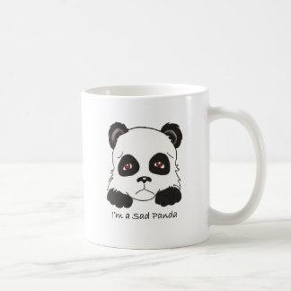 Trauriger Panda Kaffeetasse