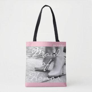 Trauzeugin-Brautjungfern-hohe Heels-Taschen-Tasche