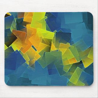 Treibende Flugzeuge - abstraktes mousepad
