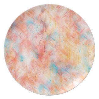 Trendy abstrakter Tapeten-Entwurf Teller