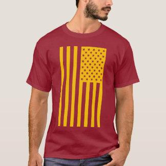 Trendy amerikanische Flaggen-Shirt T-Shirt