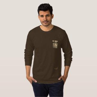 Trendy Designer-langes Hülsen-Shirt T-Shirt