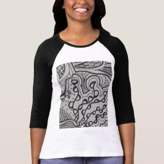 Trendy Druck-T - Shirt