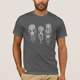 Trendy illustriertes böhmisches Dreamcatchers T-Shirt
