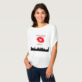 Trendy t-shirt From Paris with love
