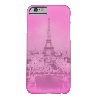 Trendy Vintager Paris- u. Eiffel-Turm Barely There iPhone 6 Hülle