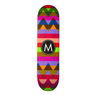 Trendy Zickzack Streifen-Muster #25 Individuelle Skateboarddecks