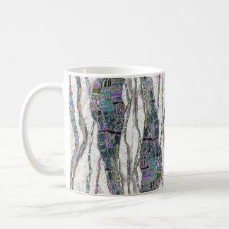 Trennen Sie Stände der Farbe Tasse