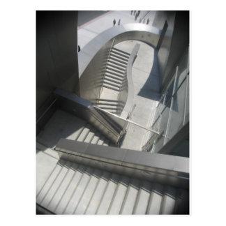 Treppe durch Bernadette Sebastiani Postkarte