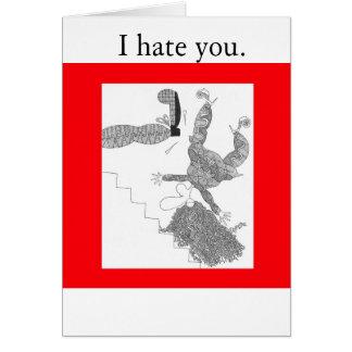 Treppe, hasse ich Sie Karte