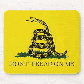 Treten Sie nicht auf mir Gadsden-amerikanische Mousepads