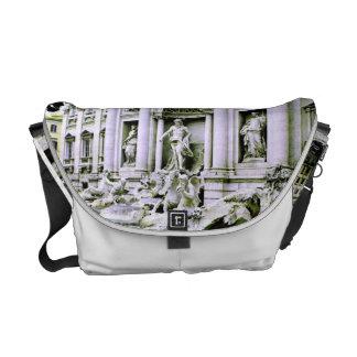 Trevi-Brunnen Rom Kurier Tasche