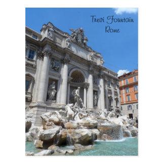 Trevi-Brunnen Rom Postkarte