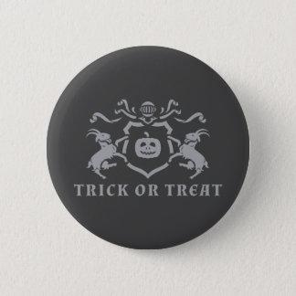 Trick oder Leckerei Runder Button 5,7 Cm
