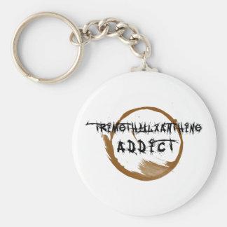TriMeth Süchtiger Keychain Schlüsselanhänger