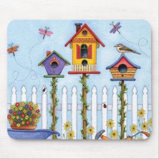Trio von Birdhouses Mauspads