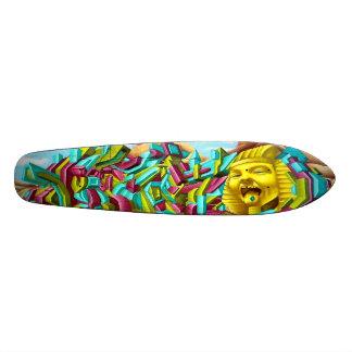 Trippin heraus mit Tut - 3D Sk8 Plattform-Kunst 19,7 Cm Skateboard Deck