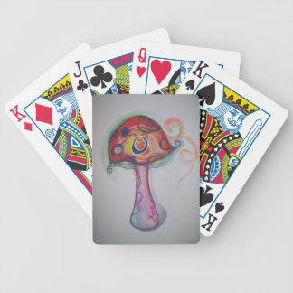 Trippy Pilz-Spielkarten Poker Karten