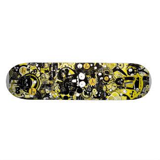 Trippy Raum-Außerirdische Skateboard Brett