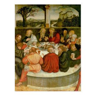 Triptychon, links Platte, Philipp Melanchthon Postkarte