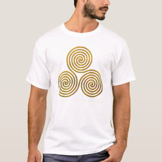 Triskele-Gold T-Shirt