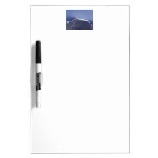 Trocknen Sie Löschenbrett mit pic der Seitenwolke Memoboard