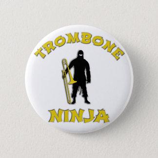 Trombone Ninja Runder Button 5,7 Cm