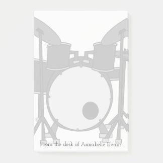 Trommel-Ausrüstung Post-it Klebezettel