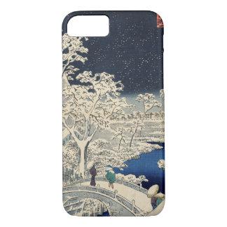 Trommel-Brücke an Meguro und am iPhone 8/7 Hülle