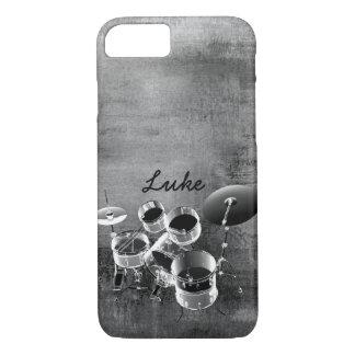 Trommel-Set/personalisiertes Geschenk für iPhone 8/7 Hülle
