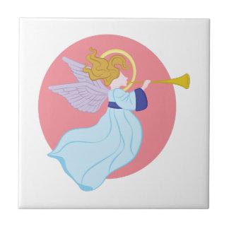 Trompete-Engel Kleine Quadratische Fliese
