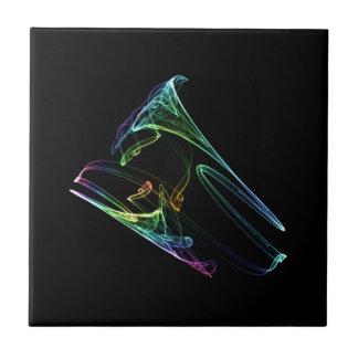 Trompete-Fraktal Fliese